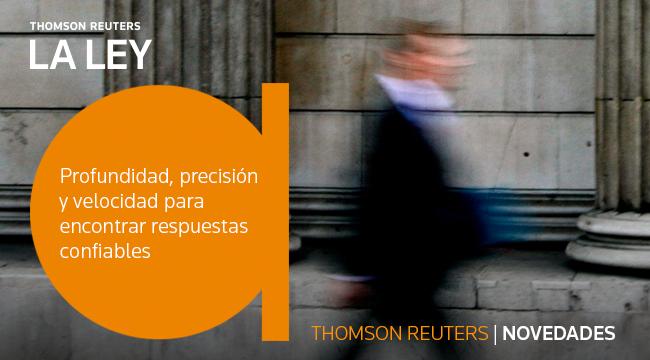Thomson Reuters / Novedades